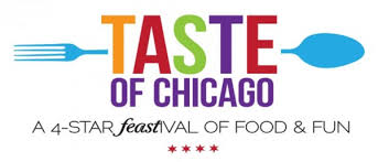taste of chicago map taste of chicago 2016 a 4 feastival of food