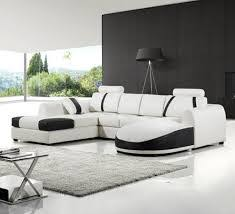 Black And White Leather Living Room Set Cheap White Living Room - White leather living room set