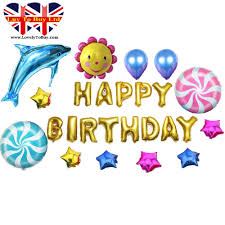 large birthday balloons children s colourful happy birthday balloon set 25 pieces large size