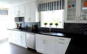 modern black subway tile kitchen backsplash outdoor furniture popular black subway tile kitchen backsplash