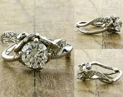 tree branch engagement ring most beautiful impression leaving engagement rings sour cherry