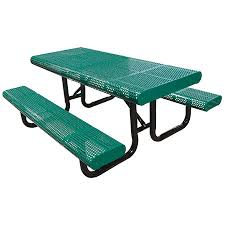 leisure craft picnic tables leisure craft inc radial edge perforated picnic table
