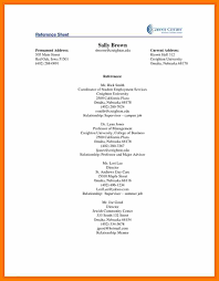 Resume Samples Summary by Reference Page For A Resume Resume For Your Job Application
