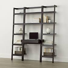 crate and barrel ladder desk leaning desks crate and barrel