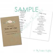 wedding program booklet wedding program booklet template free carbon materialwitness co