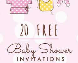 baby shower invitation cards free printable baby shower invitation