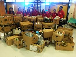 thanksgiving drive raton middle fccla conducts thanksgiving food drive krtn