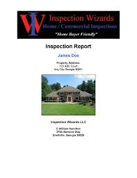 house inspection report sample sample home inspection report atlanta inspection wizards sample home inspection report