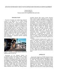 advances in proximity detection technologies for surface mining