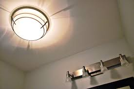 bathroom exhaust fan light heater creative bathroom decoration