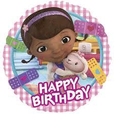 doc mcstuffins birthday 18 doc mcstuffins happy birthday foil balloon