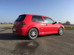 red volkswagen golf used 2002 volkswagen golf gti mk3 mk4 anniversary for sale in