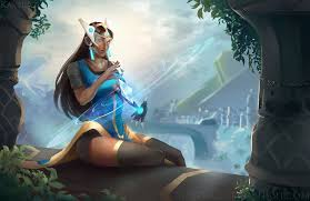 Light Being Symmetra From Light Into Being By Kastraz On Deviantart