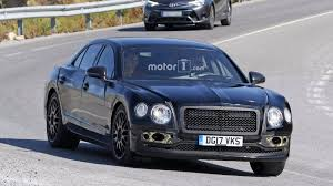 2018 bentley flying spur new bentley flying spur spied wearing full camouflage