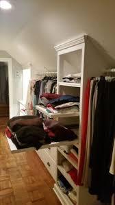 slanted wall closet ideas closet by california closets twin