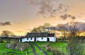 Thatched Cottage Ireland by An Irish Thatched Cottage Culdaff Co Donegal Eileen Emc Pro