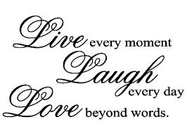 love live laugh live laugh love qout wallstickers