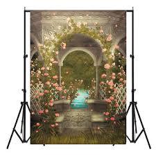 wedding vinyl backdrop 5x7ft castle photography background wedding photo studio vinyl