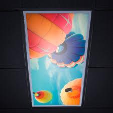 2 X 4 Ceiling Light Covers Skylens Fluorescent Light Diffuser Balloon 1 Decorative Light