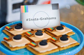 13th birthday party ideas loving these creative insta grahams at a glam instagram themed