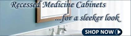 Bathroom Medicine Cabinets The Largest Selection Of High Quality - Recessed medicine cabinet vs surface mount
