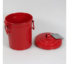 poubelle cuisine verte poubelle de table en métal freddy contento vert