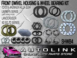 front swivel hub wheel bearing seal kit suit toyota landcruiser