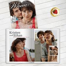 magazine wedding programs personalized wedding magazines by twenty pages