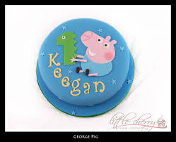 George Pig Cake Decorations George Pig George Pig Cake And Birthdays