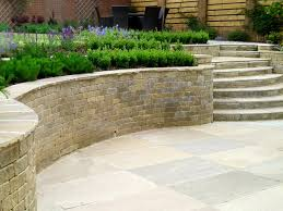 Split Level Garden Ideas Split Level Garden With Steps Modern Exterior Other By