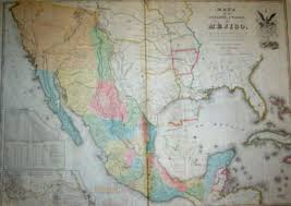 Map Of Mexico And United States by University Of South Carolina Libraries Rare Books And Special