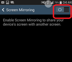 screen mirroring android how to play android on big screen tv