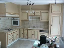 renover cuisine bois renovation cuisine peinture beautiful meubles de cuisine peinture