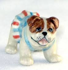 belgian sheepdog figurine hallmark store cavalier king charles spaniel dog green sweater super miniature