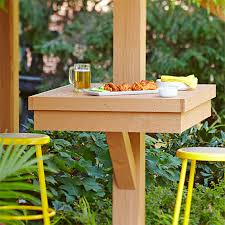 How To Keep Cats Off Outdoor Furniture by Stretch Your Deck Or Patio Dining Space By Adding These Built In