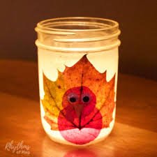 fall nature crafts for and rhythms of play