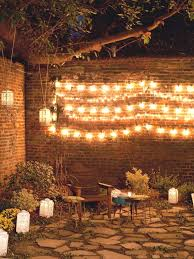 33 easy ideas for diy decor outdoor spaces string lights