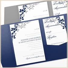 Wedding Pocket Invitations Pocket Wedding Invitation Template Exquisite Vines Navy U0026 Silver