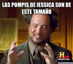 Jessica Meme - pompis de jessica son de este tama祓o