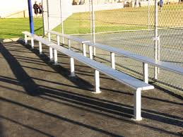 Stadium Bench Public Benches Exteria Street Park Outfitters
