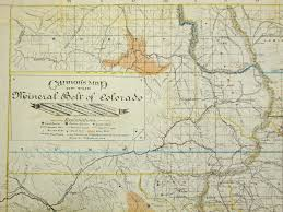 Maps Of Colorado Eureka The Discovery Of Treasures In The Cu Boulder Libraries