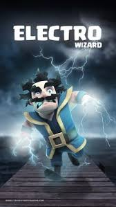 electro wizard clash royale wallpaper new home pinterest