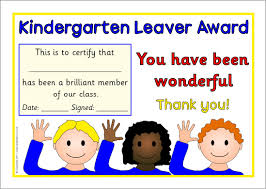 kindergarten certificates printable school end of year leavers certificates for primary ks1