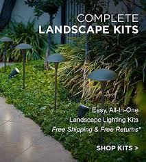 Wired Landscape Lighting Landscape Lighting Outdoor Fixtures For Garden And Yard Ls Plus