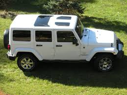 jeep convertible 4 door white jeep wrangler jk hard top glass inserts sunroofs want for