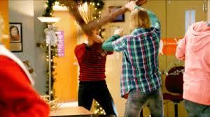 rockin u0027 around the christmas tree glee tv show wiki fandom