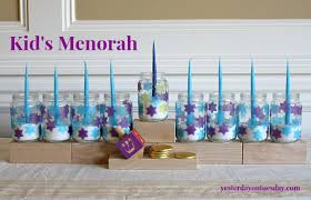 menorahs for kids kid s menorah featured in kids crafts 123 yesterday on tuesday