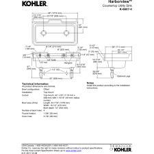 Kohler Laundry Room Sinks by Kohler K 6607 4 96 Harborview Biscuit Single Bowl Laundry