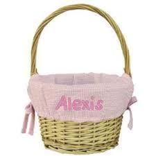 personalized wicker easter baskets personalized easter baskets for toddlers kids personalized