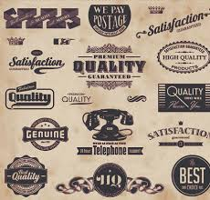 Home Design Vector Free Download Retro Labels Retro Of Creative Labels Design Vector Set Vector